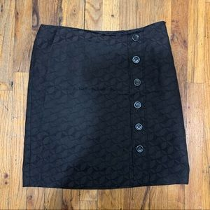 Ann Taylor Skirt with Design